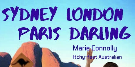 Stand-up Comedy in English.  Sydney London Paris Darling.   billets