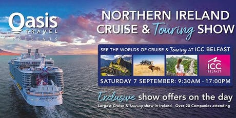 Northern Ireland Cruise & Touring Show 2019 tickets