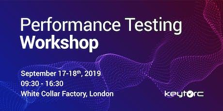Performance Testing Workshop  tickets