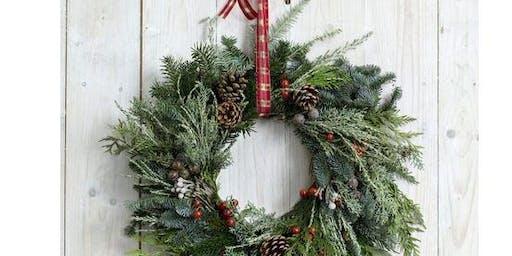 Christmas Wreath Workshop & Festive Afternoon Tea
