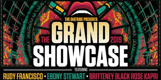 The Grand Showcase Ft. Rudy Francisco Wsg. Ebony Stewart & Black Rose