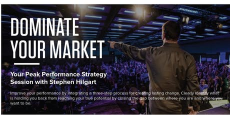 Tony Robbins Peak Performance Workshop: Dominate Your Market (Naples, FL) tickets