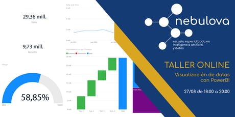 Visualización de datos con Power BI (Data Analytics) tickets