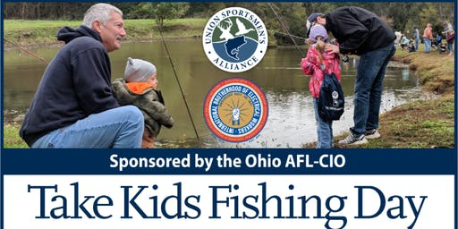 Marietta Ohio Take Kids Fishing