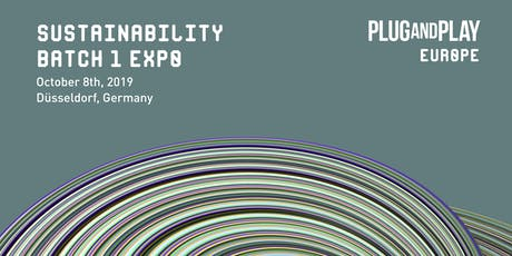 Plug and Play Sustainability Europe - Batch 1 Expo Tickets