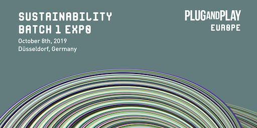 Plug and Play Sustainability Europe - Batch 1 Expo