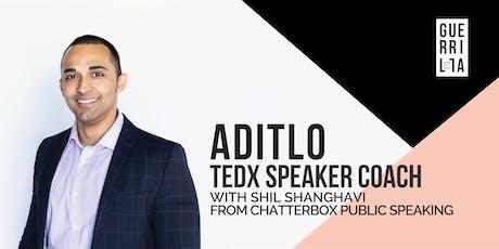 ADITLO : A TEDx Speaker Coach tickets