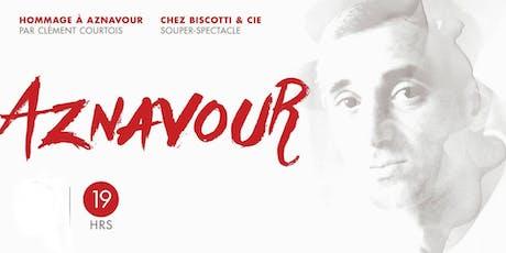 Hommage à Aznavour par Clément Courtois billets
