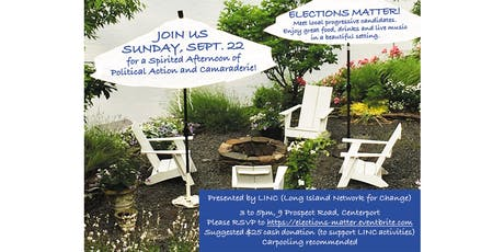 LINC Fundraiser -- Elections Matter!  tickets
