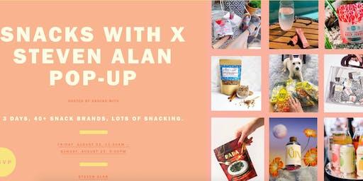 Snacks With x Steven Alan Pop-Up