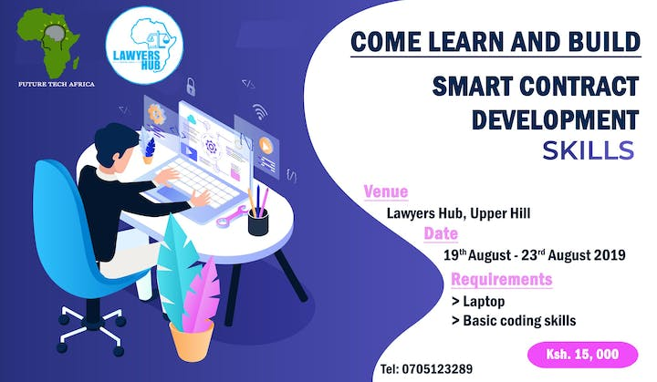 Smart Contract Development Tickets, Thu, Sep 19, 2019 at 11:00 PM