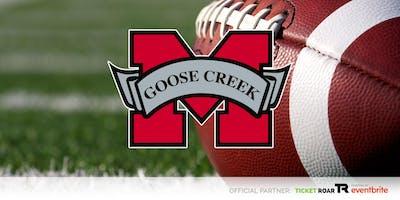 Goose Creek Memorial vs HISD Wisdom Varsity Football