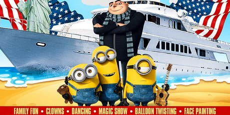 Labor Day Weekend Kids Party Cruise With Minions & Gru Guest Appearance  tickets