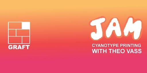 JAM: cyanotype workshop with artist Theo Vass