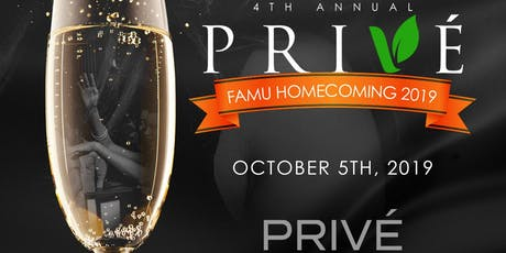PRIVE | 4th Annual Celebration | FAMU HOMECOMING 2019 tickets