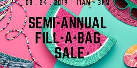 Semi Annual Fill-A-Bag SALE tickets