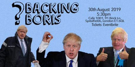 Backing Boris tickets