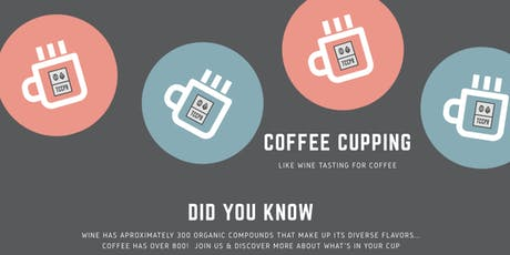 Coffee Cupping w/ TCCP Roastery tickets