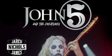 JOHN 5 w/ Jared James Nichols, Reverend Jack tickets