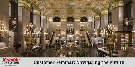 Reliable Fire & Security Customer Seminar 2019 tickets