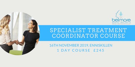 Dental Treatment Coordinator Course tickets