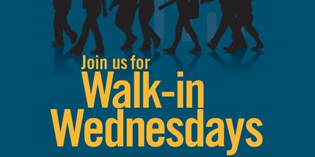 Walk-In Wednesdays: Hiring Events tickets