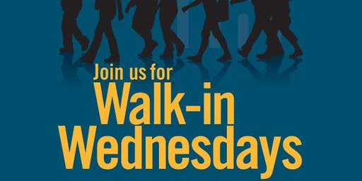 Walk-In Wednesdays: Hiring Events