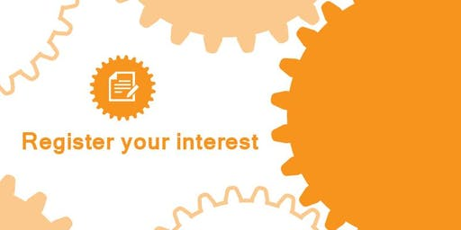 Register Your Interest - Experienced Based Design 2019/20