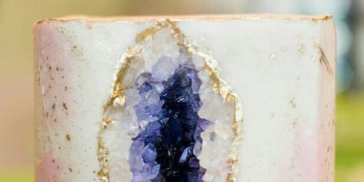 GEODE CAKE DECORATING (HANDS-ON!)