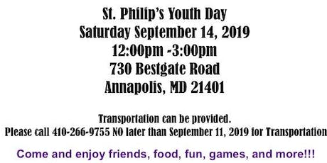 St. Philip's Youth Day tickets