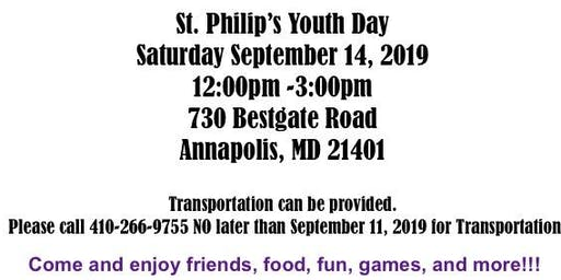 St. Philip's Youth Day