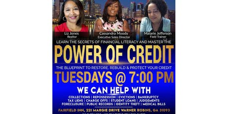 The Power of Credit - Warner Robins Ga tickets
