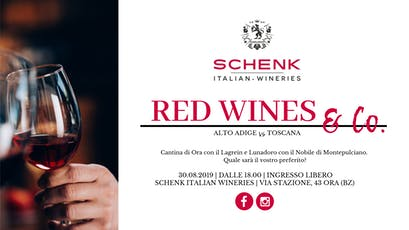 Red Wines & Co. | Alto Adige vs Toscana tickets