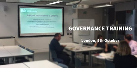 The BID Foundation Governance Training tickets
