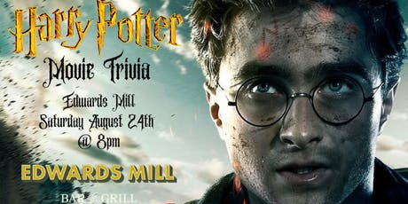 Harry Potter Movie Trivia at Edwards Mill Bar & Grill tickets