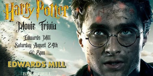 Harry Potter Movie Trivia at Edwards Mill Bar & Grill