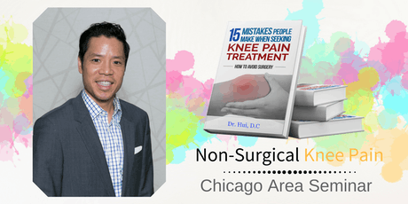FREE Non-Surgical Knee Pain Elimination Dinner Seminar - Western Suburbs Chicago / St. Charles tickets