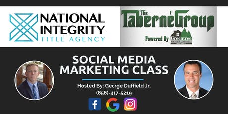Social Media Marketing Class for Real Estate Agents tickets