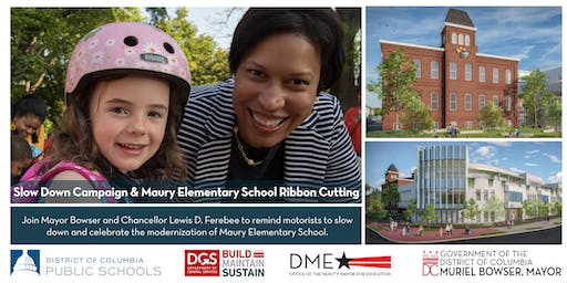Join Mayor Muriel Bowser at the Maury Elementary School Ribbon Cutting