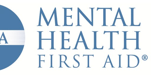 Adult Mental Health First Aid Training on 9/26/19