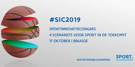 Sportinnovatiecongres 2019 tickets