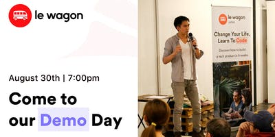 Demo Day - Le Wagon Tokyo Coding Bootcamp - Batch #279