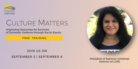 Culture Matters: Improving Outcomes for Survivors of Domestic Violence through Racial Equity tickets