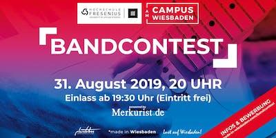 Campus Wiesbaden Bandcontest 2019 powered by Merkurist.de