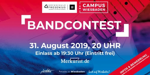 Campus Wiesbaden Bandcontest 2019 powered by Merkurist.de