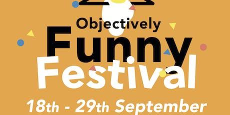 Objectively Funny Festival - John-Luke Roberts & Pierre Novellie tickets