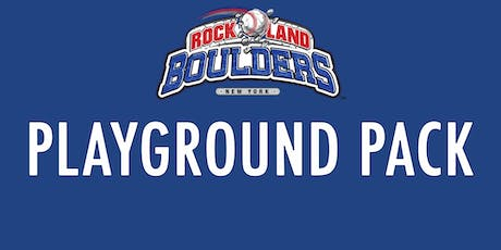 Rockland Boulders Playground Pack tickets