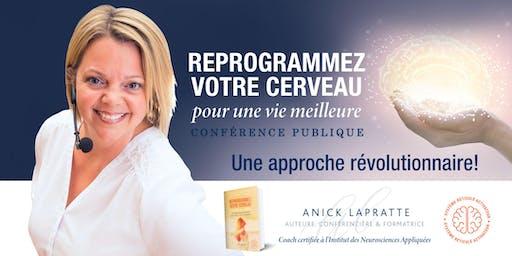 Reprogrammez votre cerveau - Conférence publique à Val-d'Or