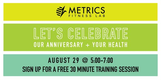 Metrics Fitness Lab 4th Anniversary Party + Mini Training Session