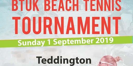 BTUK Beach Tennis Tournament - Teddington, London